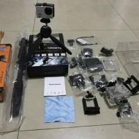 Jual Paket Kogan kamera action Sport camera Wifi 4K 16 Mp Free Tongsis Murah