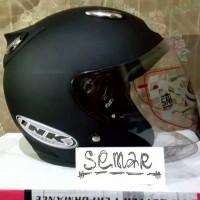 Helm basic INK Centro - Black Doff - bkn KYT BOGO AGV RETRO CROSS ANAK
