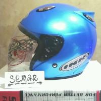 Helm basic INK Centro - Blue Ice - bkn KYT BOGO AGV RETRO CROSS ANAK