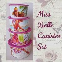 Jual Tupperware Miss Belle Canister(4)(PROMO) Murah