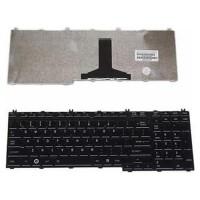 Keyboard Laptop Toshiba A500 L350 L355 L500 P300 Qosmio G50 Black