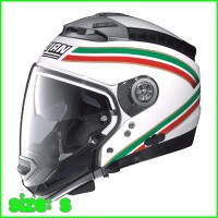 Helm Nolan N44 Italy Metal White Modular