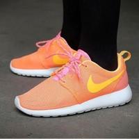 Nike Roshe Run WMNS Atomic Mango Sepatu Jalan Wanita Sneakers PREMIUM