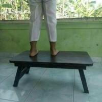 Jual meja belajar lipat / meja laptop lipat kayu murah Murah