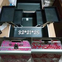 harga 32x21x25 Koper Kotak Box Tas Kosmetik Cosmetic Organizer Tokopedia.com