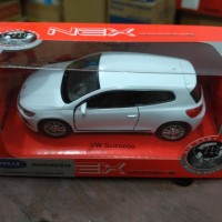 diecast welly vw scirocco