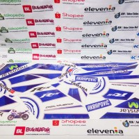 Striping Stiker Sticker list body yamaha r15 yzf-r15 yzf r15 biru 2016