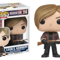 Exclusive Pop Games Resident Evil Leon S Kennedy Action Figure Collect