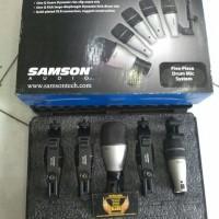Microphone Drum SAMSON 5 KIT / 5KIT 5 Piece Drum Mic Set