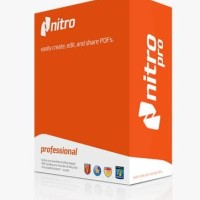 Nitro PDF pro 11 (Lifetime Original License) PDF integrated Microsoft