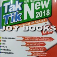 Jual BUKU TAK TIK NEW 2018 SMA PROGRAM IPA SIAP UJIAN NASIONAL UN 2018 Murah