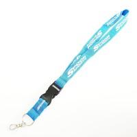 Gantungan Kunci JDM Lanyard Racing Strap SPOON aqua blue