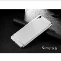 Casing HP 3 in 1 Protection Case Silver Oppo F1 Plus R9