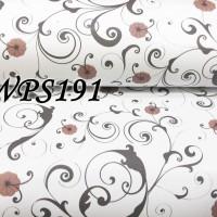 WPS191 WHITE N VECTOR WITH LITTLE FLOWER wallpaper-dinding walpaper