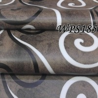 WPS185 DARK N WHITE BLACK VECTOR wallpaper-dinding walpaper stiker