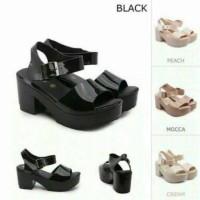 harga Sepatu Wanita - Wedges Sexy Jelly Shoes Tokopedia.com