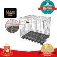 harga Kandang Lipat Stainless Ssd 305 + Roda Untuk Hewan Anjing Kucing Tokopedia.com