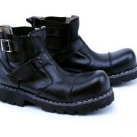 sepatu boots kulit safety, sepatu motor , sepatu touring ghd 2012