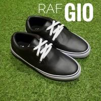 Jual Sepatu Casual Murah RAF Foot GIO LS - Hitam Murah