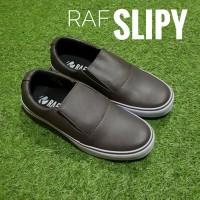 Jual Sepatu Casual Murah RAF Foot SLIPY LS - Cokelat Murah