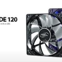 Deepcool Wind Blade 120 BLUE/RED/WHITE - SEMI TRANSPARAN