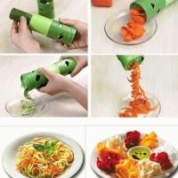 Jual Veggie Twister Vegetable spiral sayur cutter pisau alat dapur hias Top Murah