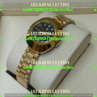 jam tangan wanita rado diestar jengkol anti kikir gold otometic mini