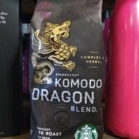 Starbucks Komodo Dragon Blend Coffee Whole Bean