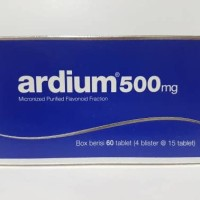 Ardium 500 mg tablet isi 60's