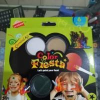 Jual face paint color fiesta 6 color Murah