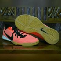 Sepatu Futsal Anak Original Nike T90 Crimson