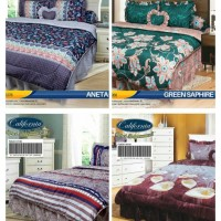 BEDCOVER SET CALIFORNIA / MY LOVE KING 180X200 / BED COVER SET