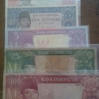 Jual Set uang kuno Bung Karno Murah