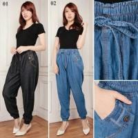 harga Celana Joger Jumbo Okina Long Pant Jeans Tokopedia.com