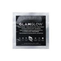 GLAMGLOW YOUTHMUD TINGLEXFOLIATE TREATMENT MASKER HITAM SAMPLE