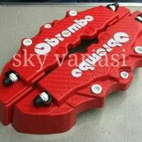 harga Cover Caliper Cakram Brembo Besar Model Karbon / Carbon Warna Merah Tokopedia.com