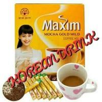 MAXIM MOCHA GOLD MILD KOREAN COFFEE ASLI DARI KOREA