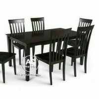 meja makan,set kursi makan minimalis
