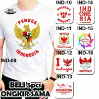 Jual Kaos Anak Motif Kemerdekaan / Baju Anak Cinta Indonesia / Kaos Bayi Murah