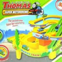 Track set Thomas Super Motodrome Ada Lampu dan Musik