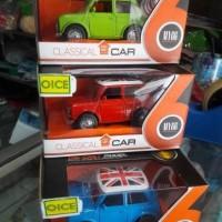 Diecast mobil Mini Cooper Classic
