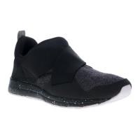 Laris League Vault Slip On Sepatu Sneakers - Black/White