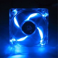 Fan Case Kipas Pendingin CPU Besar 12cm dengan Lampu LED