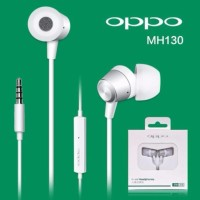 Handsfree OPPO Stereo Earphone MH 130 - Putih