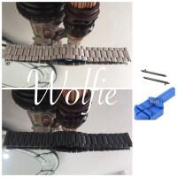 SAMSUNG GEAR S3/ Moto 360 / Zenwatch /Lg Urbane / Pebble Time QR strap