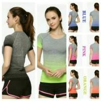 Jual Setelan Baju dan Celana Sport Wanita Olahraga Gym Fitnes Senam Murah
