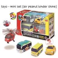 Zoetoys Tayo - Mini Set (Air Peanut Kinder Shine)