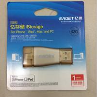 Eaget OTG USB 32Gb for iphone/ipad/mac/PC USB3.0