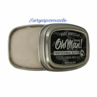 Pomade Oh man! Baby Army Clay OHMAN Clay Mini Matte 45gr - Free Sisir