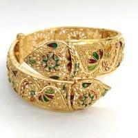 gelang emas asli dubai model slewah kadar 916